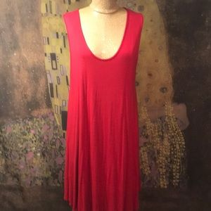 Dresses & Skirts - Funky Red T-shirt Dress by Modern Kiwi Size 3X